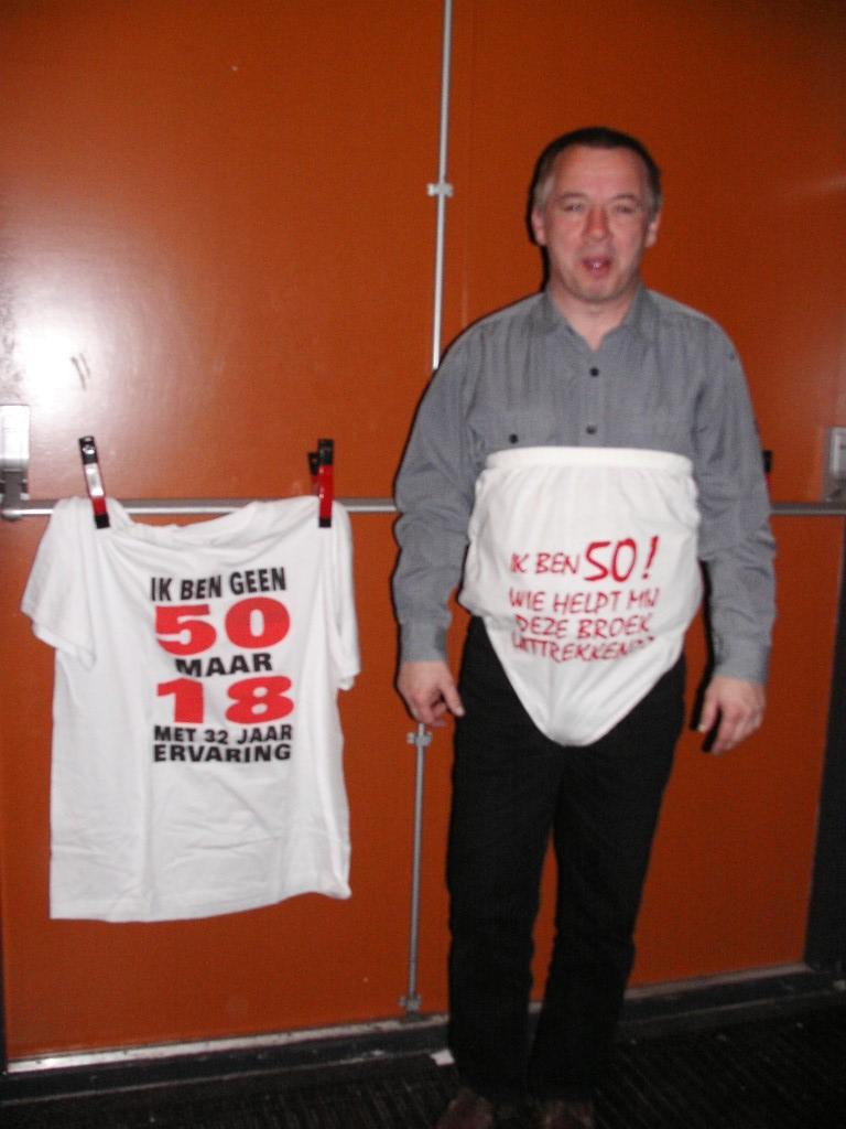 fred 50 jaar Fred van de Grint 50 jaar 2006 | Popkoor TUNE fred 50 jaar